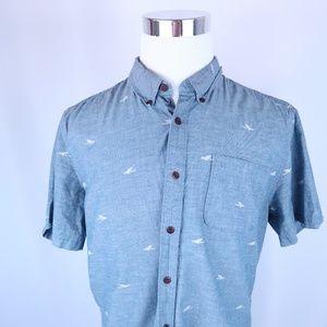 Quiksilver Waterman Collection Short Sleeve Shirt